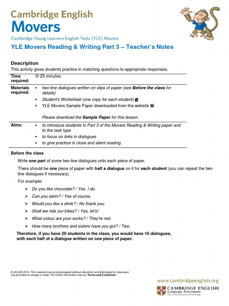 cambridge-english-movers-reading-and-writing-part-3.pdf | Question ...