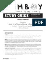 Tomboy.studyGuide - LizPrince