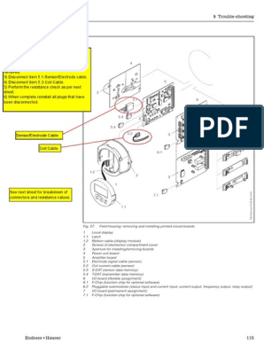 promag-50-53-resistance-check pdf | Electrical Resistivity And
