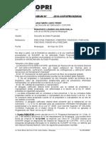MEMO - ILO Descarte de 2ble Prop. 11