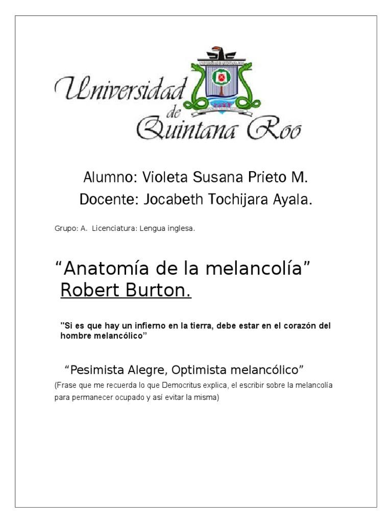 Encantador Anatomía De La Melancolía Bandera - Imágenes de Anatomía ...