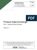VDA 4956 1 Product Data Management 1.0