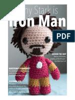 Amigurumi Iron Man Pattern