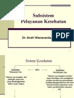04 KBK-Administrasi Kesehatan Masyarakat (Subsistem Pelayan