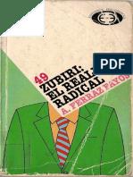Ferraz Fayos Antonio - Zubiri. El realismo radical. Ed. Pedagógicas. Madrid. 1995.pdf