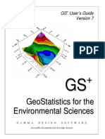 GS+ User's Guide COKRIGING