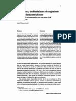 Ecologismo y Ambientalismo.