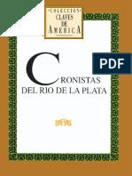 Cronistas del Río de la Plata.pdf