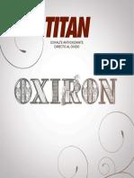 Catalogo Oxiron