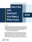 CMS MACRA Proposed Rule Fact Sheet About Small Practices