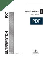 PX1000 Manual