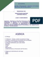 Seminario - Nuevos Retos Para La Prevencion y Control de Riesgos