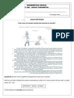 Diagnostico Inicial - Portugues