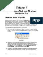 Tutorial 7 - Aplicaciones Web Con Struts en NetBeans 5