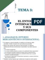 Tema 3 Entorno Del Marketing Internacional