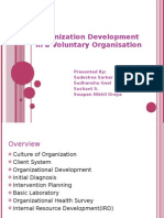Organization Development in a Voluntary ion