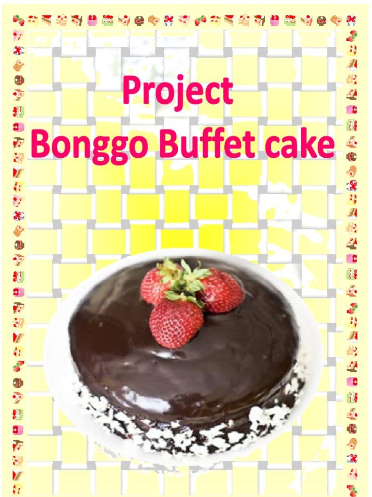 Bonggo Buffet Cake Cakes Breads Premium Blueberry Cheese 20cm