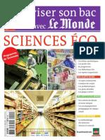 Reviser Son Bac Avec Le Monde Sciences Economiques Et Sociales Terminale
