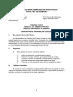 Prontuario Derecho Laboral Avanzado (Agosto 2013) (Prof Zeno)
