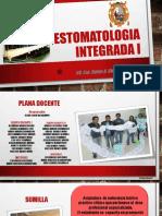 presentacion de la asignatura estomatologia integrada i