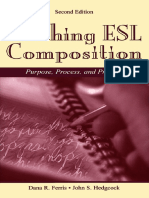 Teaching ESL Composition Purpose Process and Practice