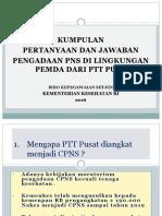 Buku Saku CPNSD Dari PTT Pusat 2016