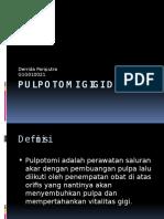 Pulpotomi Gigi Desidui