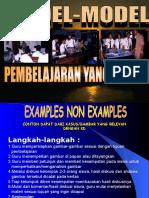 Model Model Pembelajaran SMA