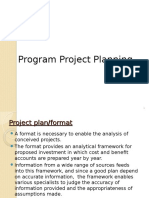 Program Project Planning Lecture1 PPT