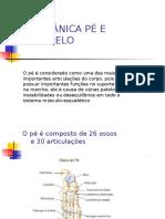 Biomecanica Pé e Tornozelo