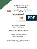 Biomoleculas - Microbiologia