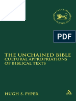 Cultural Appropiations of Biblical Texts
