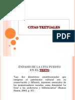 Citas textuales (1)