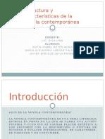 Estructura y Características de La Novela Contemporánea