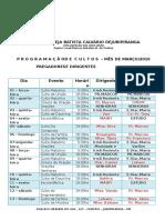 Agenda Fixa Março 2016