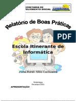 Escola Itinerante de Informática- Relatorio