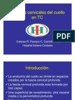 Espacios Anatomicos Del Cuello TC