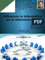 Influencia La Informática en La Administración