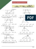 Geometria - Proporcionalidad y Semejanza