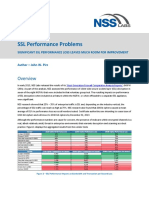 SSL Performance Problems