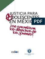 Justicia Para Adolescentes en México