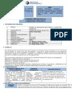 Syllabus - Gestión de Servicios de TI
