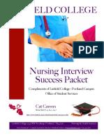 Interview Success Packet 12