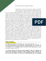 Profetas Del Desastre # 06 Felipe Torrealba