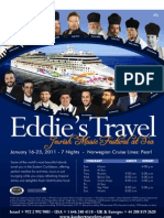 Jewish Music Festival at Sea, Jan16 2011