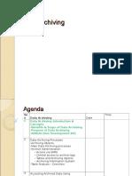 Data Archiving Presentation