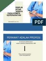 Dewi Irawaty - Etika Dan Disiplin Implementasi Pada Komite Keperawatan