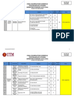 Postgraduate Studies Examination Schedule Semester 2 20152016 2nd DRAFT