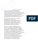 Duineser Elegien - Rilke - Zweite Elegie