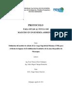 Lagunas facultativas (protocolo)